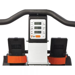 V-Fit Tornado Air Rowing Machine Display