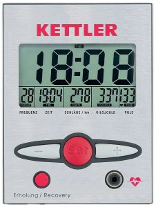 Kettler Favourite Rowing Machine LCD Display Monitor