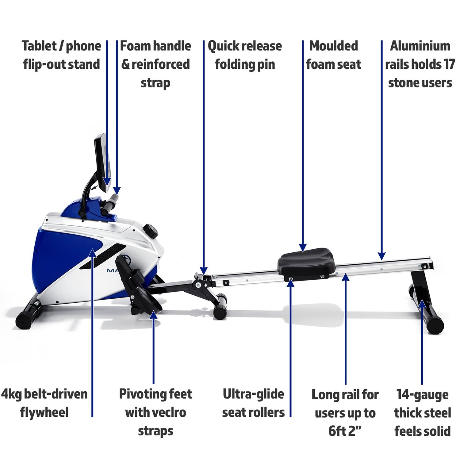 Marcy Azure RE1016 Rowing Machine Review - Rowing Fan Club