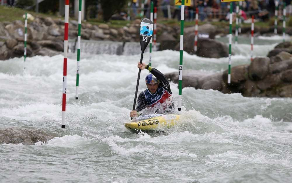 Third Stage World Cup Slalom Pau