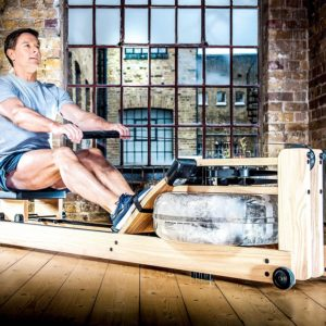 WaterRower Beech In Action