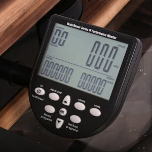 WaterRower Classic Rowing Machine LCD S4 Monitor